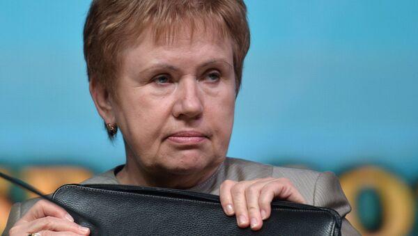 Председатель Центральной избирательной комиссии Белоруссии Лидия Ермошина. Архивное фото