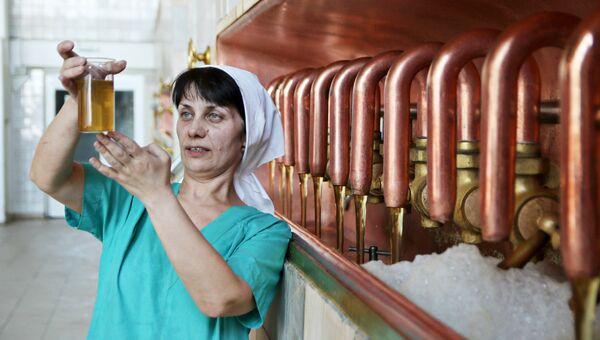Производство пива. Архивное фото