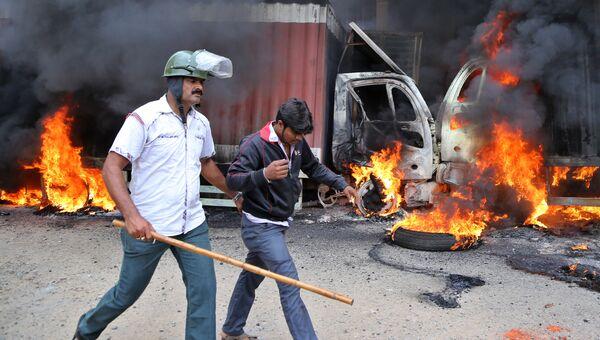 Беспорядки в Бангалоре, Индия