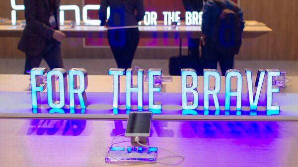 Стенд компании Huawei на выставке