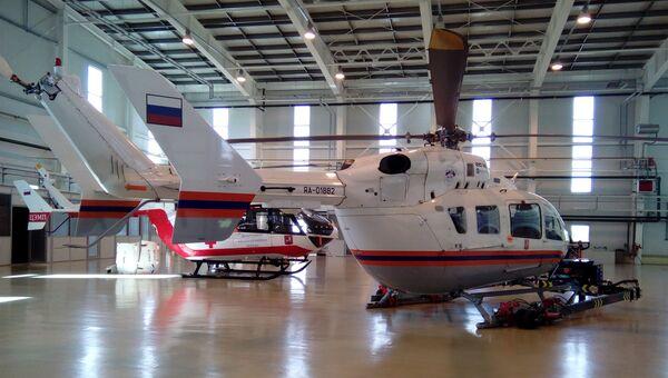 Вертолеты МАЦ. Архивное фото