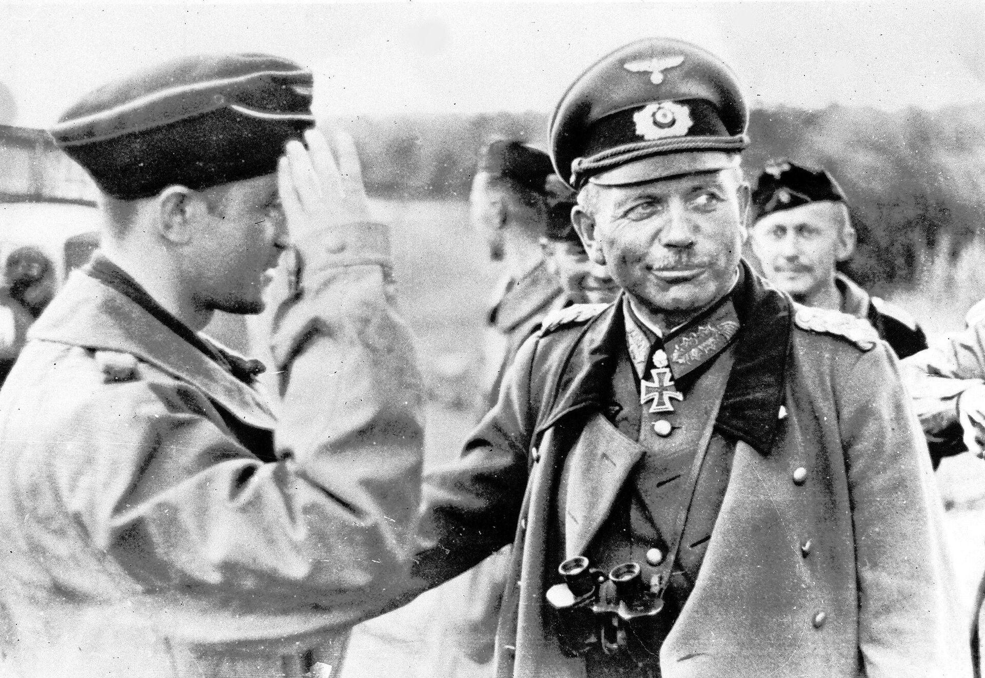 Подполковник Хайнц Гудериан. 1941 год  - РИА Новости, 1920, 16.09.2020