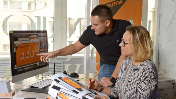 Дизайн-центр информационного агентства и радио Sputnik