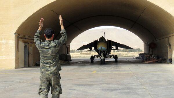 Истребитель ВВС Сирии. Архивное фото