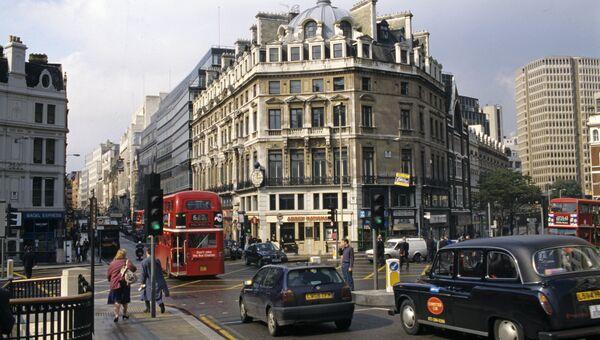 Фаррингтон-стрит в Лондоне. Архивное фото