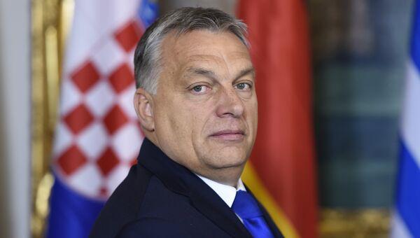 Венгерский премьер-министр Виктор Орбан. Архивное фото