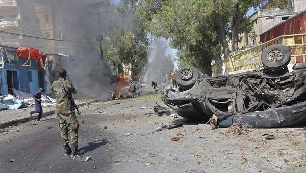 Могадишо. Архивное фото