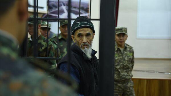 Правозащитник Азимжан Аскаров в Чуйском областном суде Киргизии