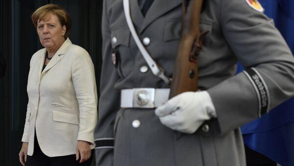 Канцлер ФРГ Ангела Меркель. Архивное фото