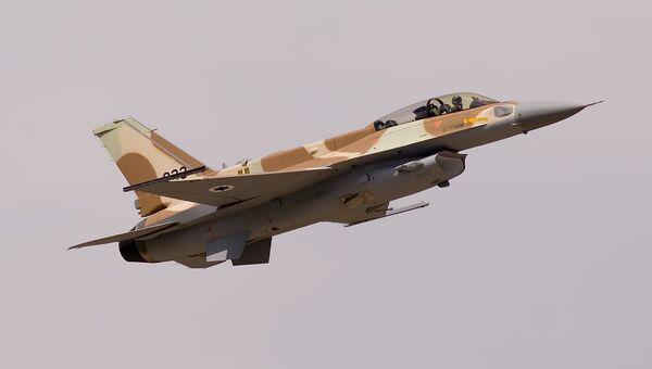 Истребитель F-16I Sufa ВВС Израиля. Архивное фото