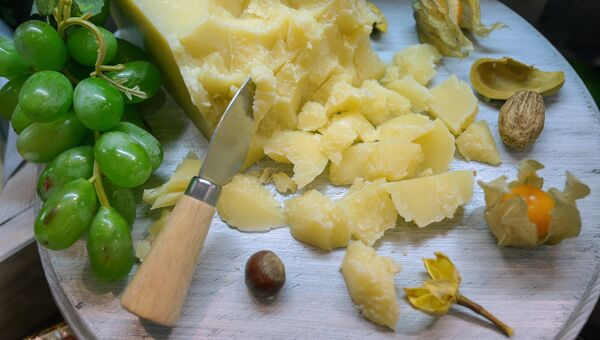 Сыр на 18-й Российской агропромышленной выставке Золотая осень на территории ВДНХ