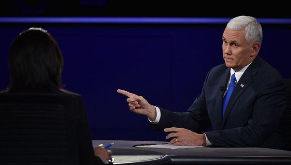 Кандидат в вице-президенты США от Республиканской партии Майк Пенс. Архивное фото