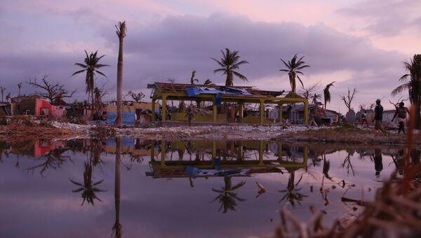 Последствия урагана Мэтью на Гаити. 9 октября 2016