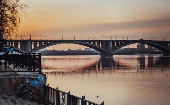 Коммунальный мост. Красноярск