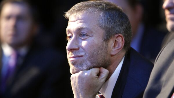 Российский бизнесмен Роман Абрамович. Архивное фото