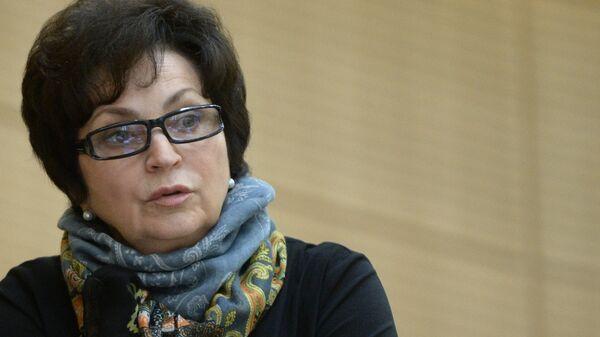 Член комитета Совета Федерации РФ Екатерина Лахова. Архивное фото