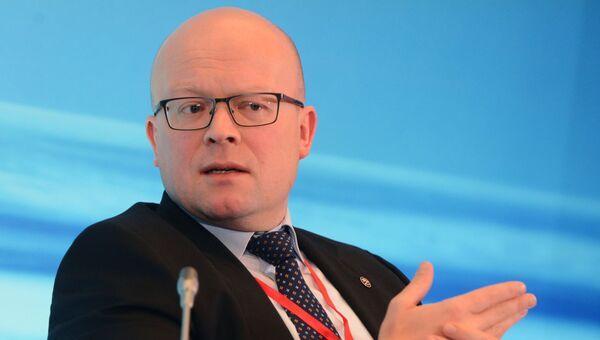Чрезвычайный и Полномочный Посол Финляндии в РФ Микко Хаутала. Архивное фото