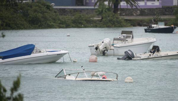 Последствия урагана Николь на Бермудских островах. 13 октября 2016