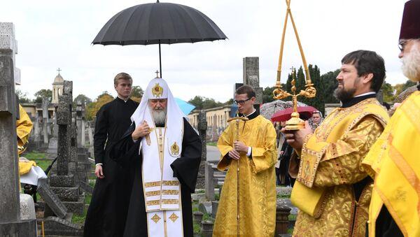 Визит патриарха Кирилла в Великобританию