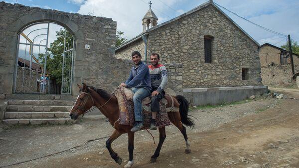 Вгороде Гадруте самопровозглашенной Республики Нагорный Карабах. Архивное фото