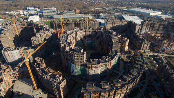 Строительство ЖК Солнечная Система в городе Химки в Подмосковье
