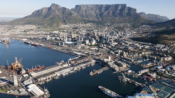 Вид на Кейптаун, ЮАР