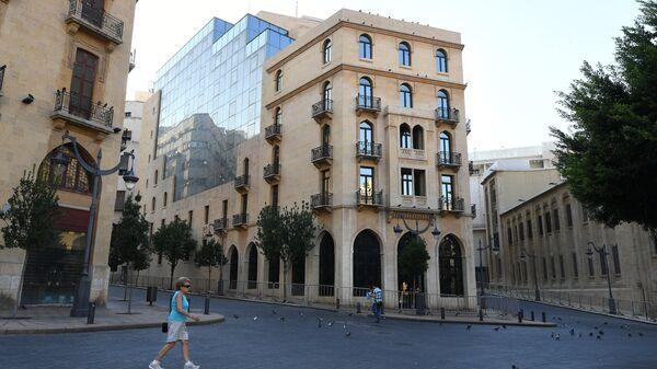 Здание парламента на центральной площади Бейрута — площади Этуаль