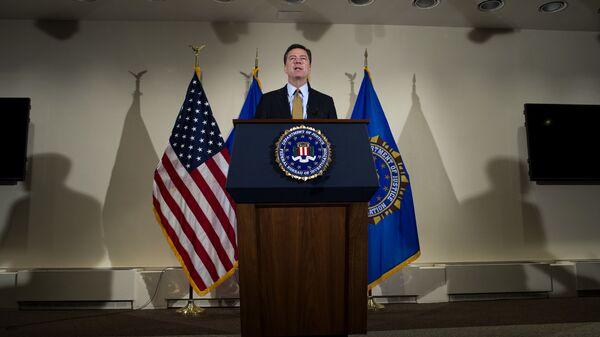 Директор ФБР США Джеймс Коми. Архивное фото