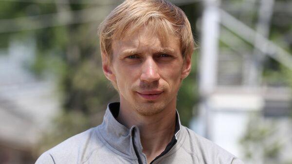 Российский прыгун в высоту Андрей Сильнов