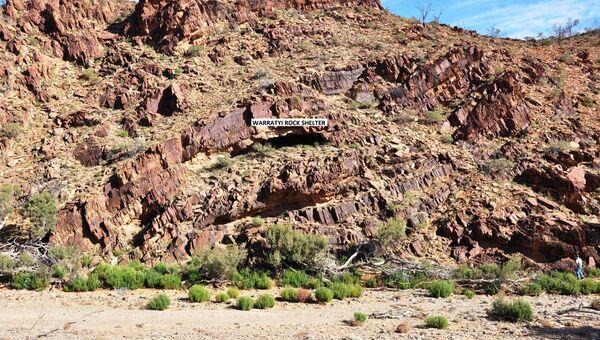 Пещера Варратуи, где были найдены орудия труда первых австралийцев