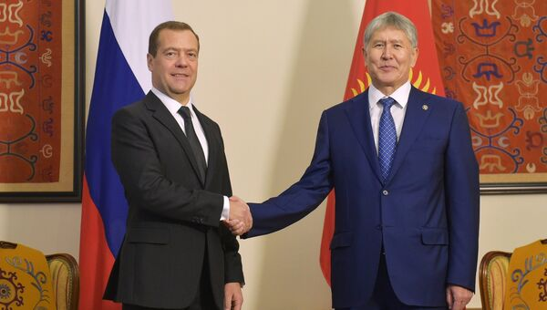 Официальный визит премьер-министра РФ Д. Медведева в Киргизию