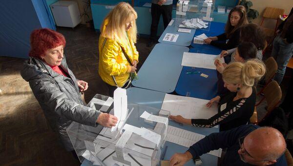 Голосование в Софии