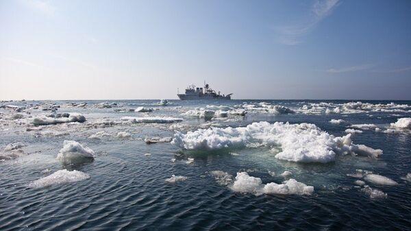 Охотское море. Архивное фото