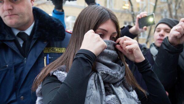 Задержанная за нарушение ПДД Мара Багдасарян. Архивное фото