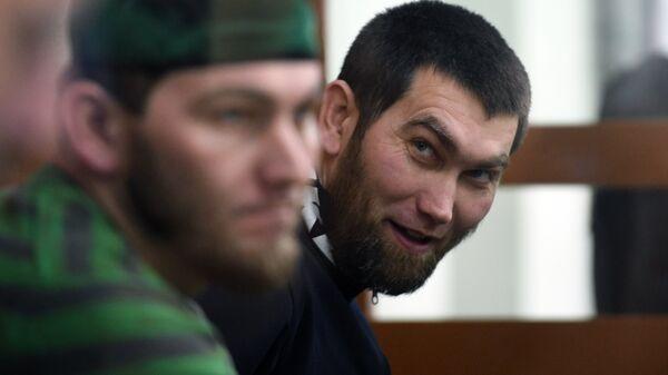 Анзор Губашев на заседании суда по делу об убийстве Бориса Немцова в Московском окружном военном суде