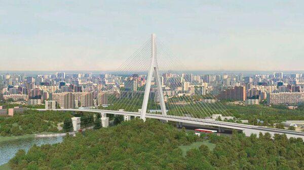 Проект моста на Карамышевской набережной