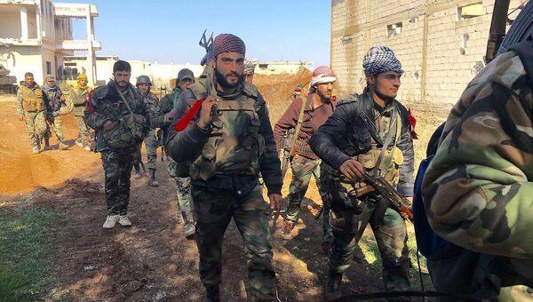 Солдаты сирийской армии в провинции Дераа. Архивное фото