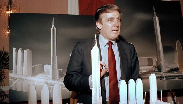 Дональд Трамп на Манхэттене. 1985 год