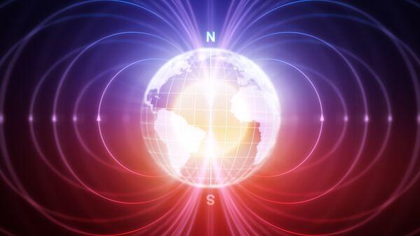 Магнитные полюса Земли. Архивное фото