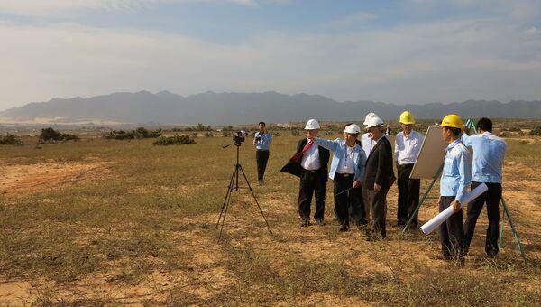 Предполагаемое место строительства АЭС Ниньтхуан-1 во Вьетнаме. Архивное фото