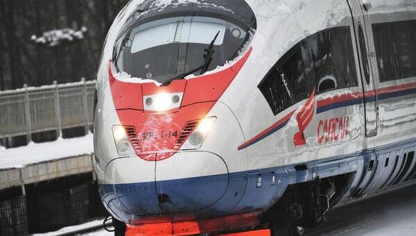 Поезд Сапсан. Архивное фото