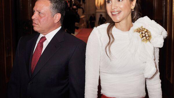 Король Иордании Абдалла II  и королева Рания аль-Абдулла