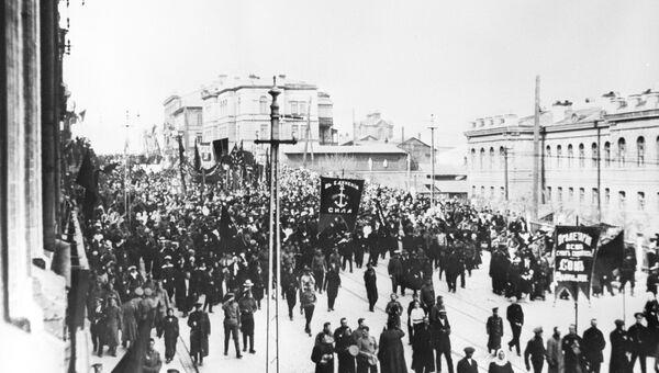 Великая Октябрьская социалистическая революция. Архивное фото