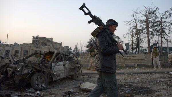Сотрудник афганских служб безопасности. Архивное фото