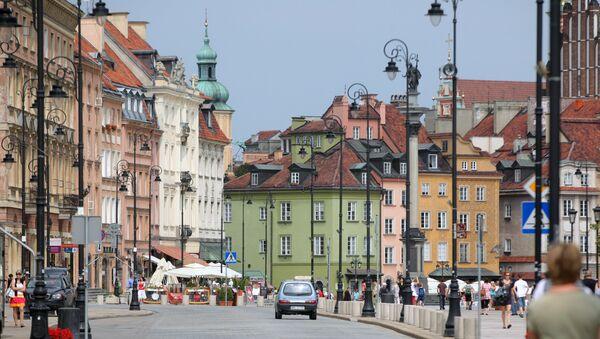 Города мира. Варшава. Архивное фото.