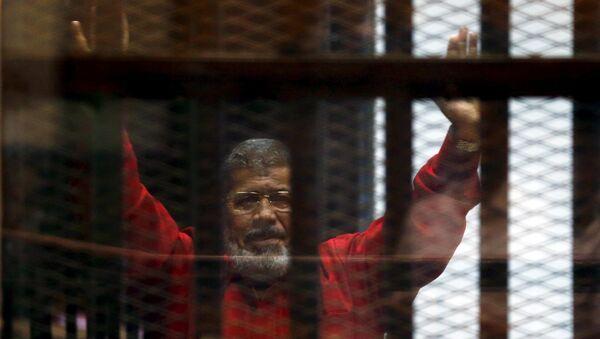 Свергнутый президент Египта Мохаммед Мурси. Архивное фото
