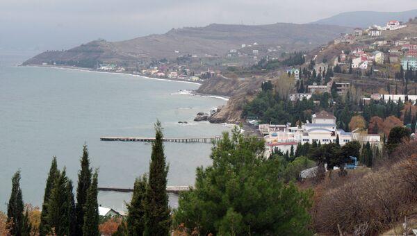 Осень в Крыму, архивное фото