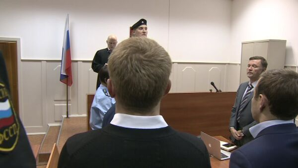 Суд принял решение об аресте Улюкаева. Кадры заседания
