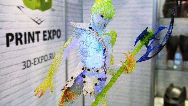 Экспонат выставки 3D Print Expo 2016 в Москве
