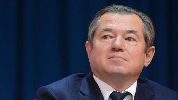 Советник президента РФ Сергей Глазьев. Архивное фото